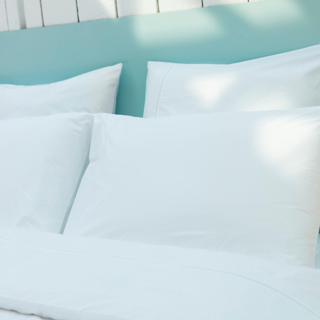Cotton Percale Lace Trim Duvet Cover snow white 1