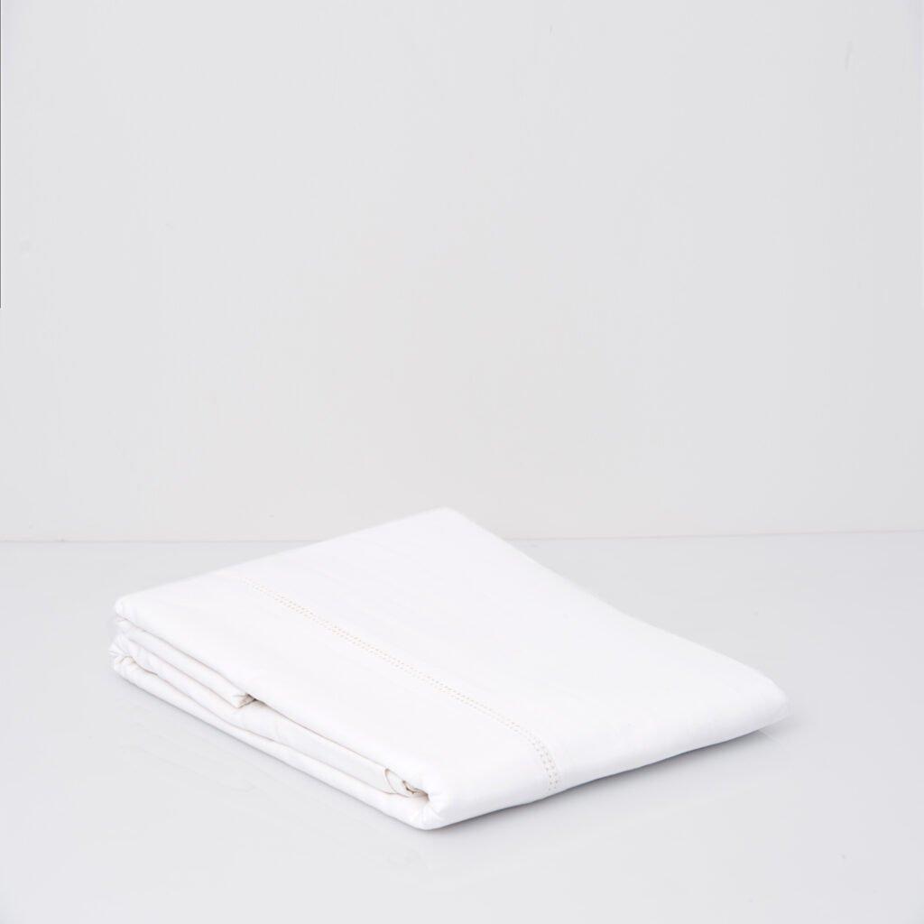 Cotton Percale Lace Trim Duvet Cover snow white 5