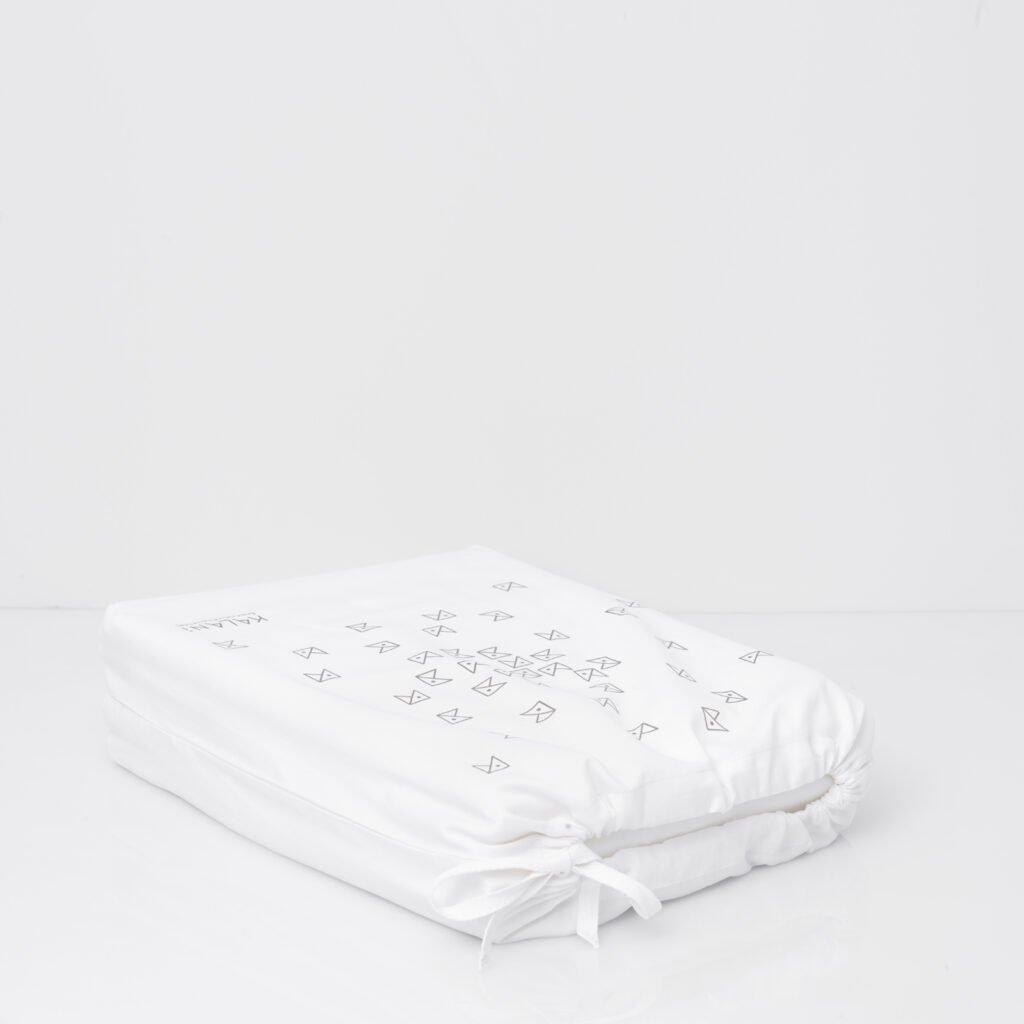 Cotton Percale Lace Trim Duvet Cover snow white 7