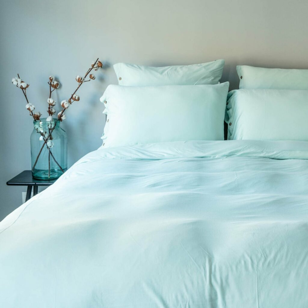 Cotton premium jersey bedroom kalani blue 4