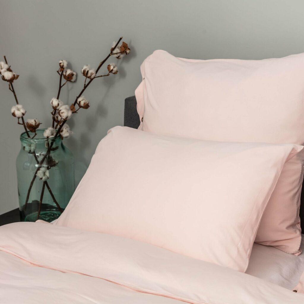 Cotton premium jersey bedroom soft pink 2