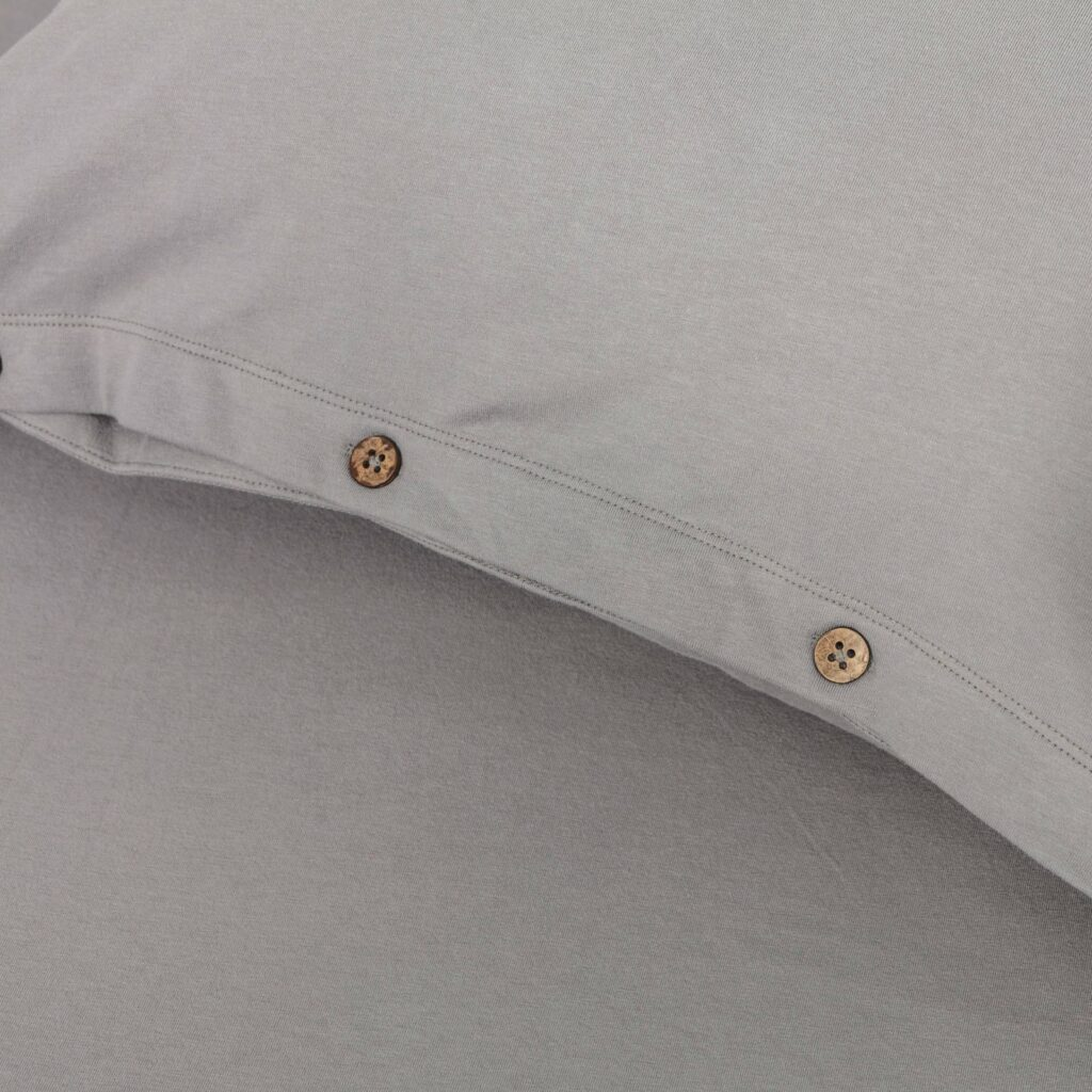 Cotton premium jersey bedroom stone grey 2