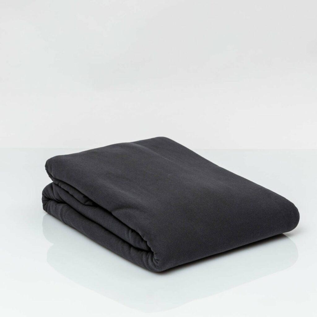 Cotton premium jersey duvet cover lava grey 2