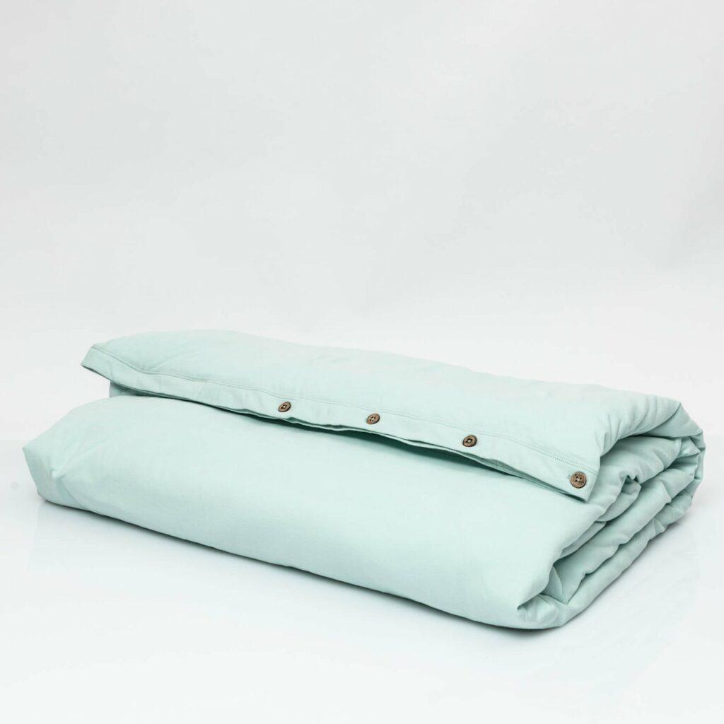 Cotton premium jersey duvet cover kalani blue 1