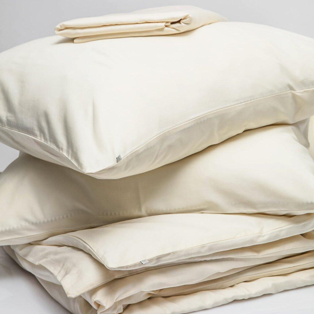 Cotton sateen bundle Ivory 2
