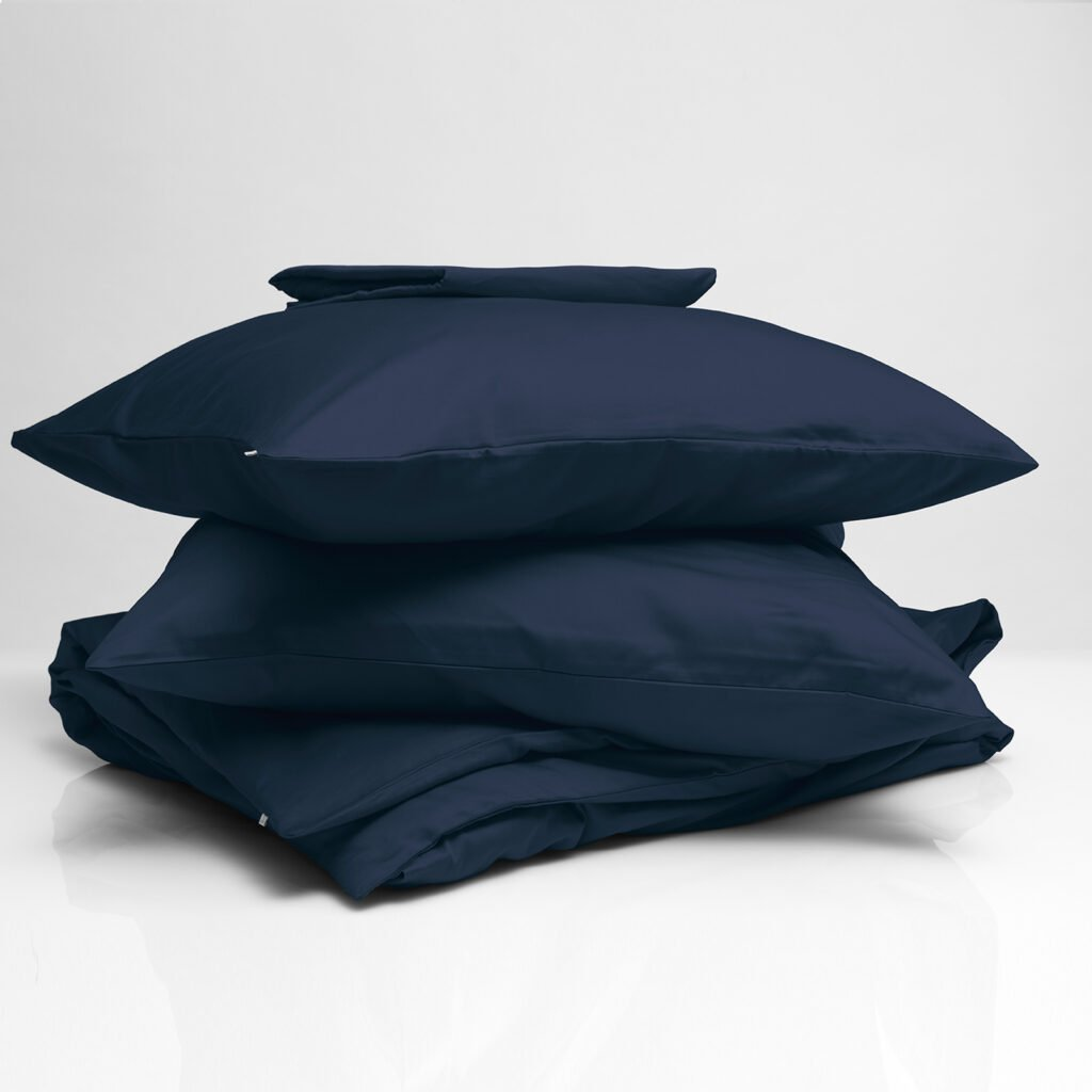 Cotton sateen bundle midnight blue 1