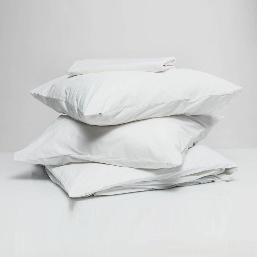 Cotton sateen bundle snwo white 1