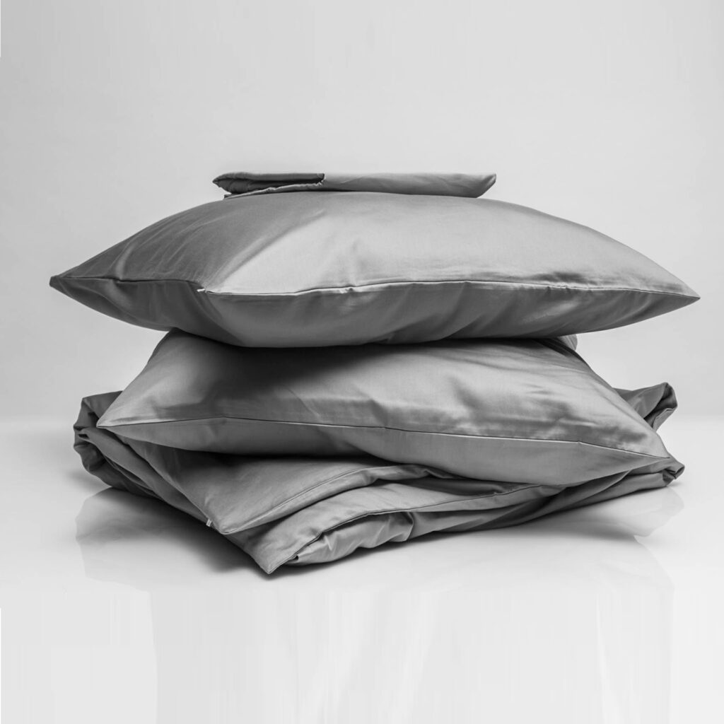 Cotton sateen bundle stone grey 1