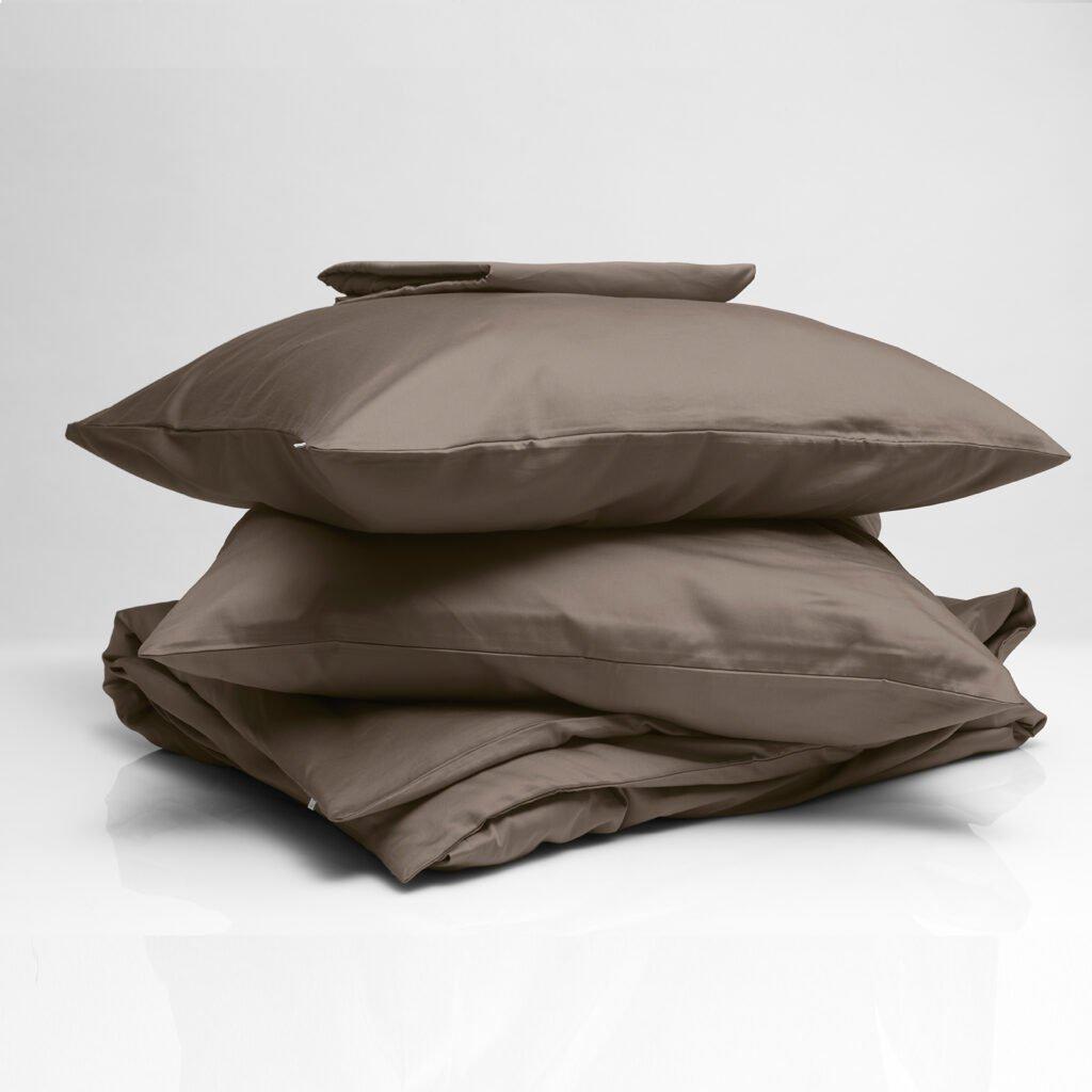 Cotton sateen bundle taupe 1