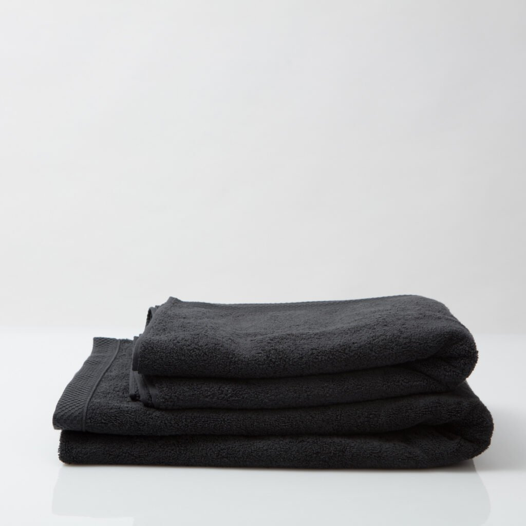 Luxury bath sheets anthracite 1