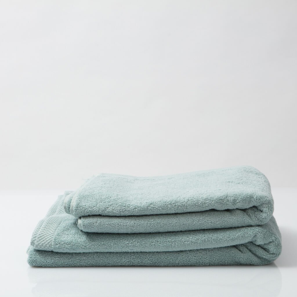 Luxury bath sheets kalani blue 2