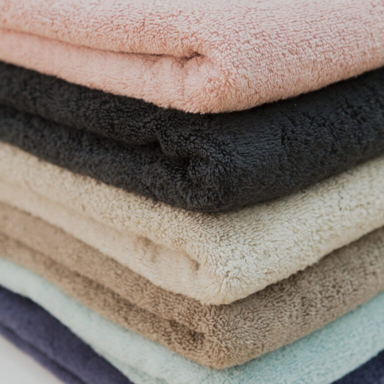 Luxury bath sheets taupe 3