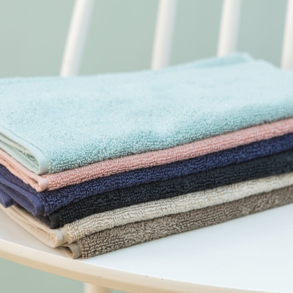 Luxury guest towel taupe 2