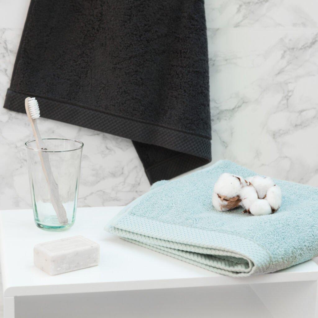 Luxury hand towel kalani-blue 4