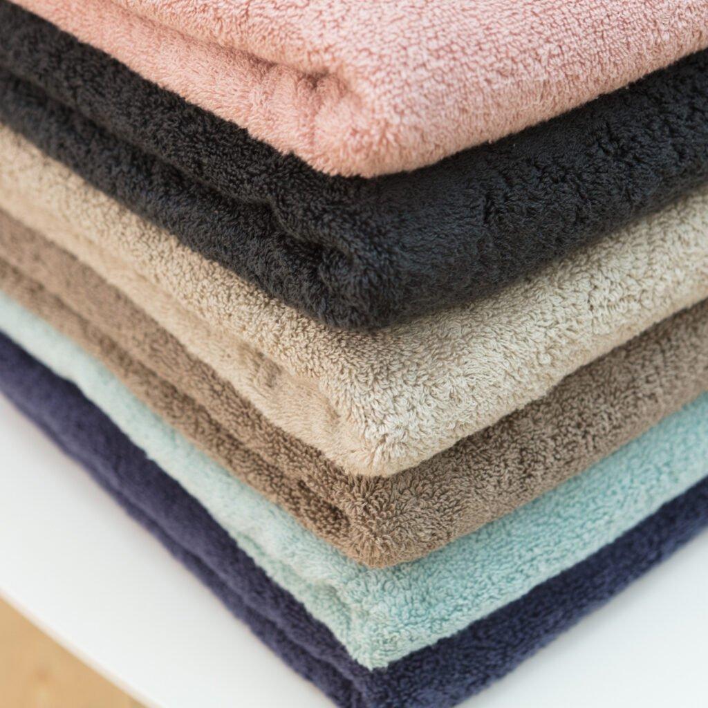 Luxury hand towel taupe 4