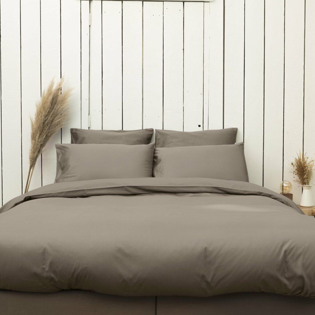 cotton sateen bedroom taupe 2