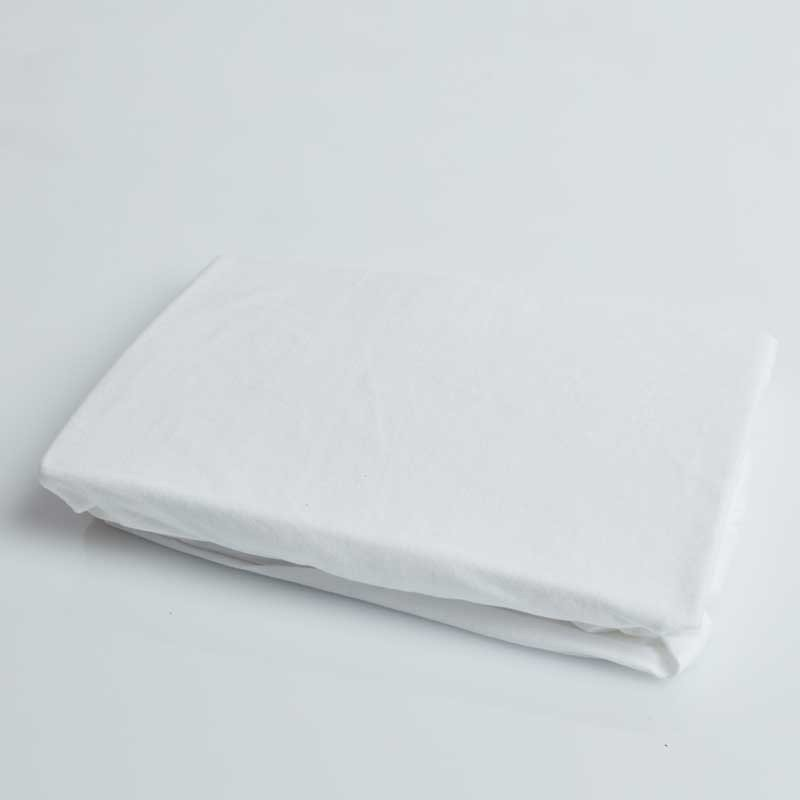Cotton Sateen Fitted Sheet Snow White 12