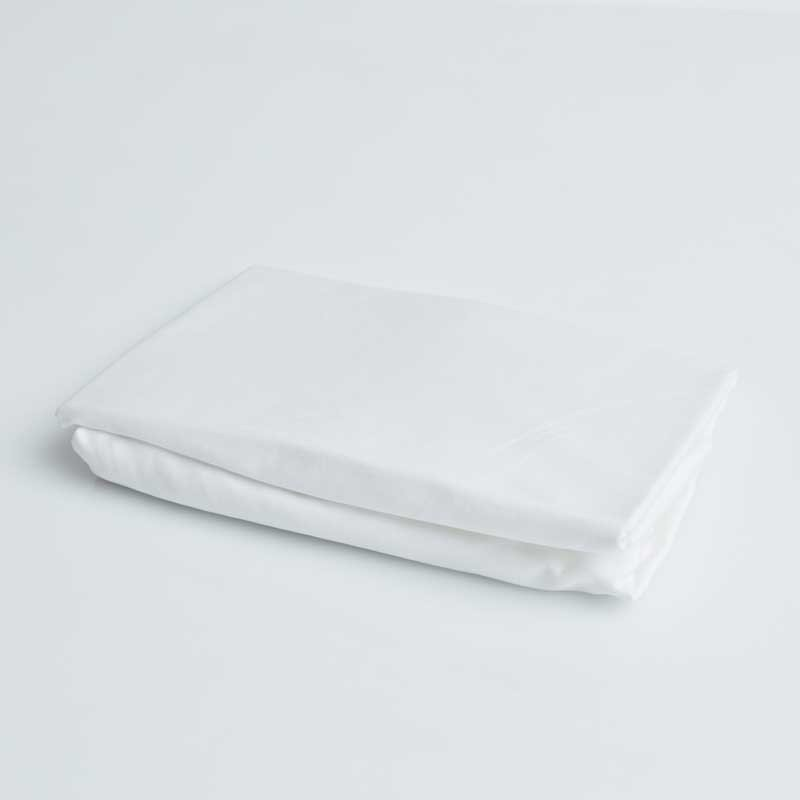 Cotton Sateen Fitted Sheet Snow White 16