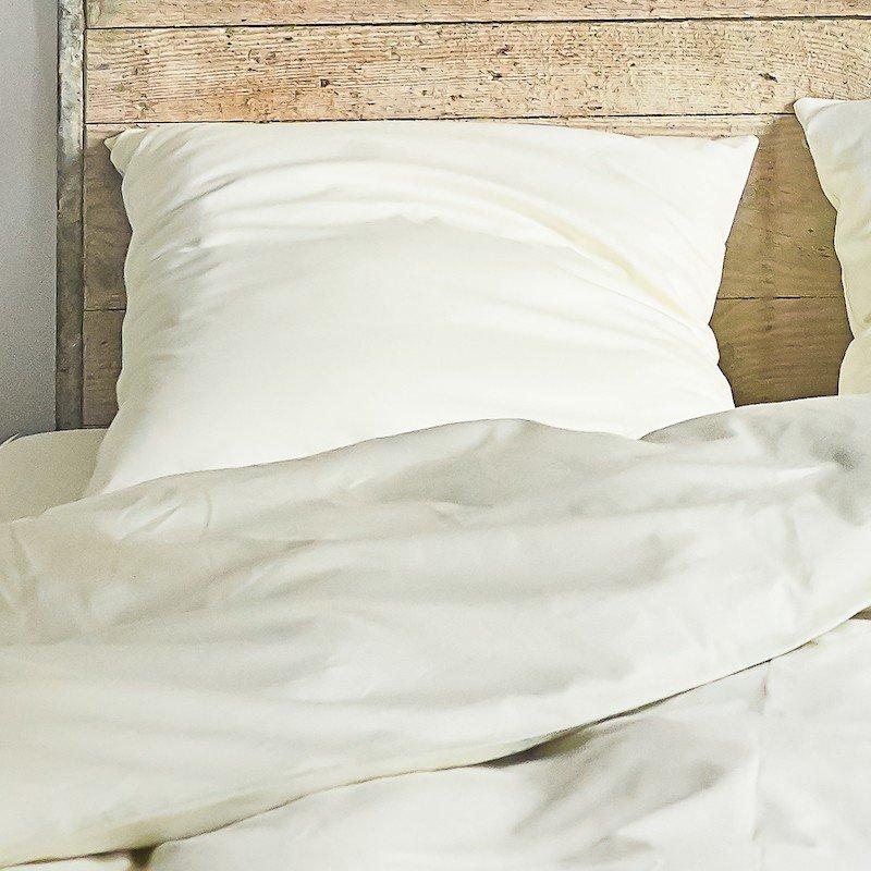 Cotton Sateen Pillowcase Ivory 4