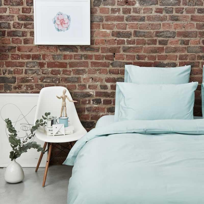 Cotton Sateen Pillowcase Kalani Blue 8