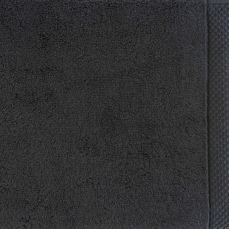 luxury bath linen closeup anthracite 1