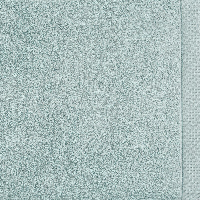 luxury bath linen closeup kalani blue 1