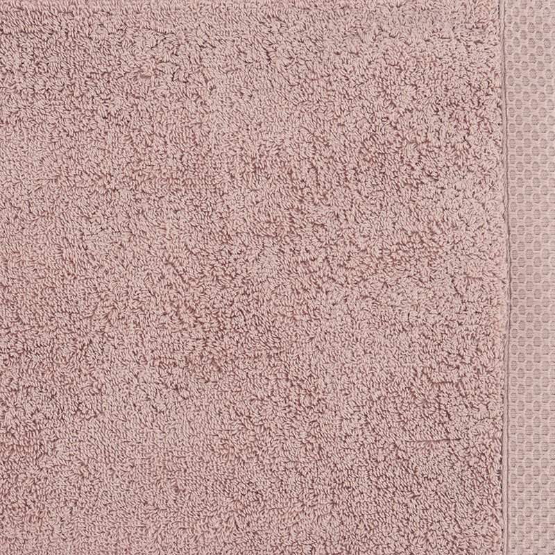 luxury bath linen closeup old pink 1