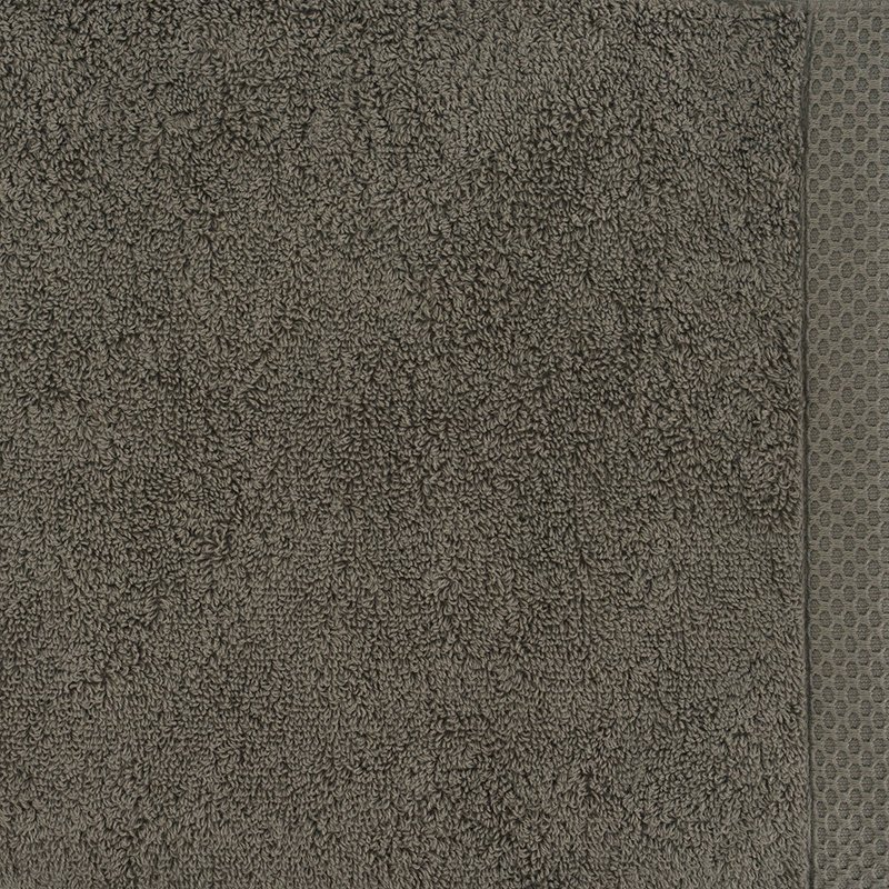 luxury bath linen closeup taupe 1