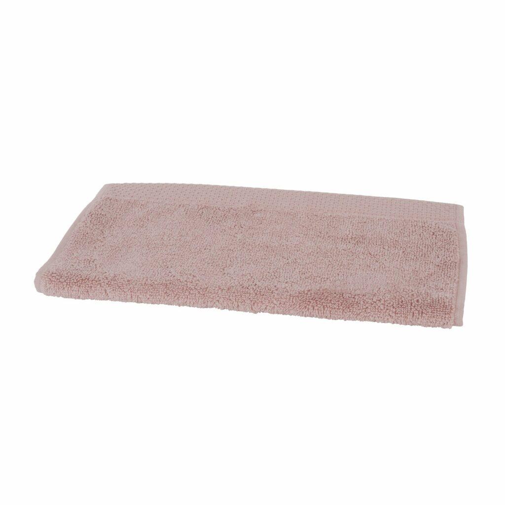 luxury guest towel old pink 0