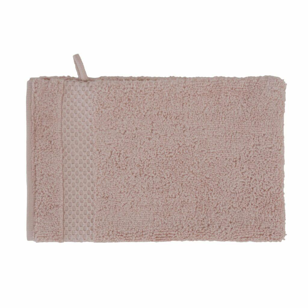 luxury wash glove duo old pink 0